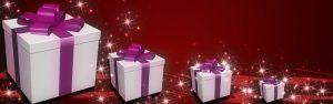 מתנות עם סרט סגול