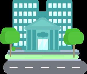 בניין של בנק