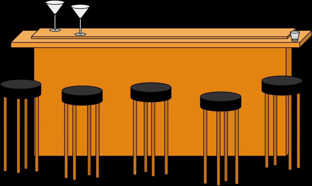בר וכיסאות